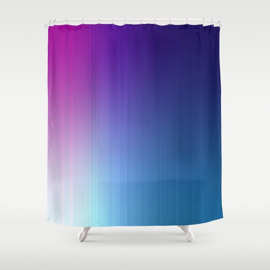 Curtains Ideas blue ombre shower curtain : Fuchsia Blue Ombre Shower Curtain by 2sweet4words Designs | Society6
