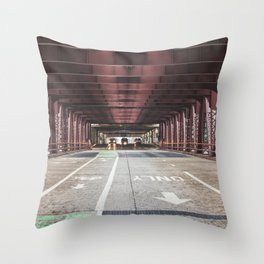 Straight Ahead - Chicago Throw Pillow