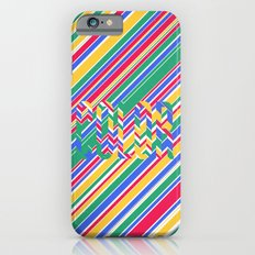 Color Stripes iPhone 6s Slim Case