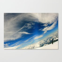 Skydive Cloud Canvas Print