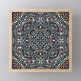 Mandala Pattern Design 21 Framed Mini Art Print