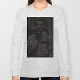 Venkman: Ghostbusters Screenplay Print Long Sleeve T-shirt