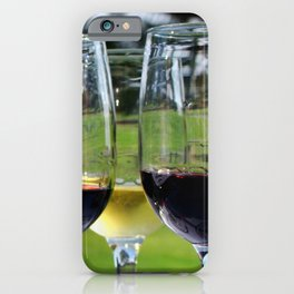 Raise Your Glass iPhone Case