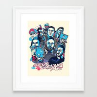 gaming Framed Art Prints featuring Inside Gaming by MikeRush