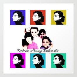 Audrey Tribute Art Print