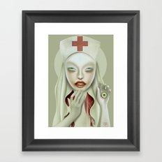 The Treatment Framed Art Print