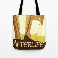 resident evil Tote Bags featuring Resident Evil Afterlife by JackEmmett