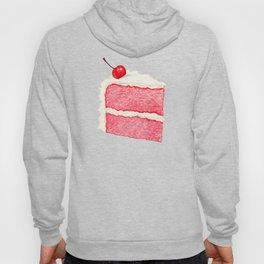 Cherry Cake Pattern - Pink Hoody