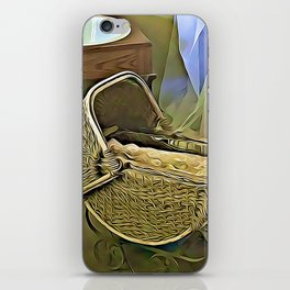 Once Upon a Time - Pram in the Nursery iPhone Skin