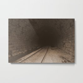 Railroad Tunnel Metal Print