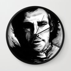 DARK COMEDIANS: Ben Stiller Wall Clock