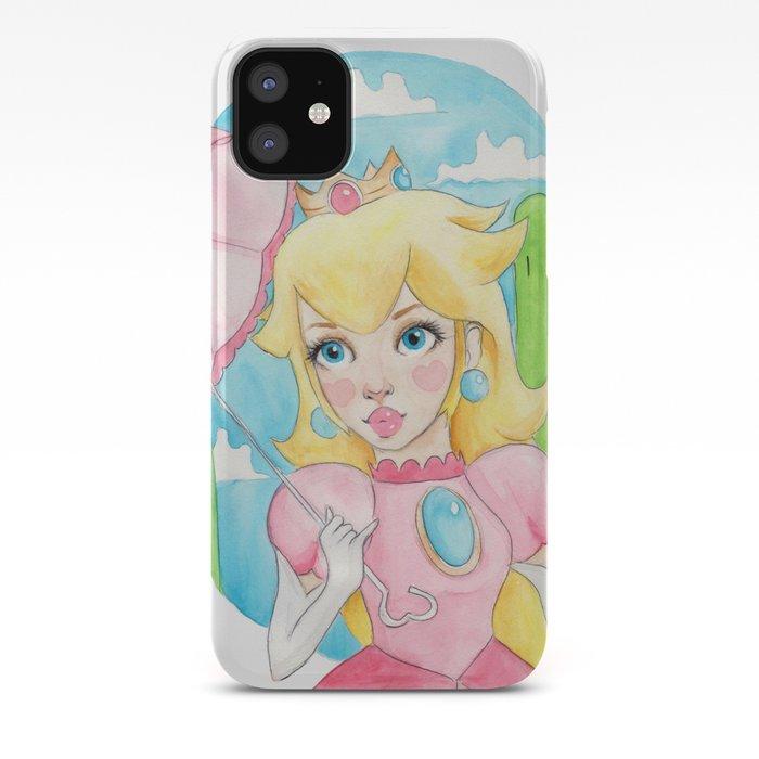 Princess Peach iphone case