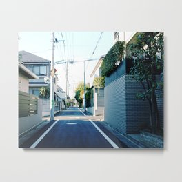 Street of TokyoII Metal Print