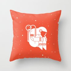The Cosmonaut Throw Pillow