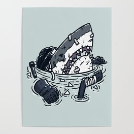 The Goon Shark Poster
