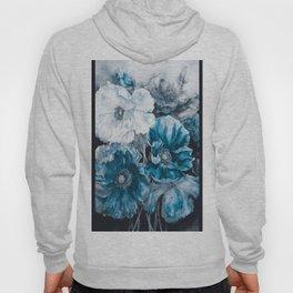 BLUE FLOWERS PAINTING - 180818/1 Hoody
