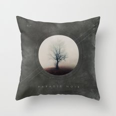 Paradis Noir Throw Pillow