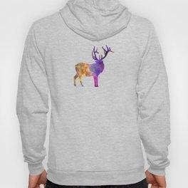 Elk 04 in watercolor Hoody
