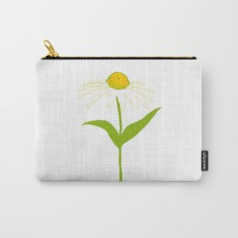 Yellow Daisy Carry-All Pouch