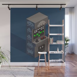 SpaceInvaders arcade cabinet Wall Mural