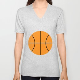 #9 Basketball Unisex V-Neck