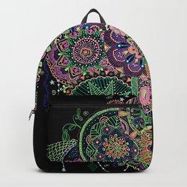 Black Light Mandalas Backpack