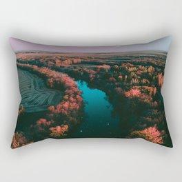 north dakota fall Rectangular Pillow