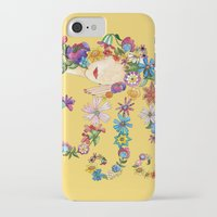 sleeping beauty iPhone & iPod Cases featuring Sleeping Beauty by Shelley Ylst Art
