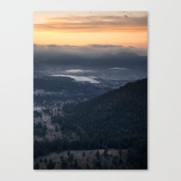 Estes Sunrise 2 Canvas Print