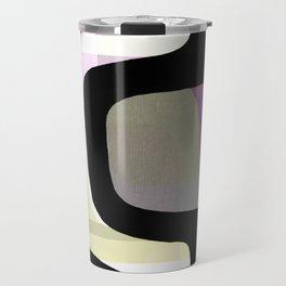 Mid Century Abstract 1 Travel Mug