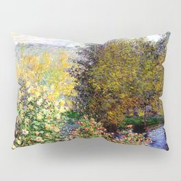 Claude Monet : A Corner of the Garden at Montgeron Pillow Sham