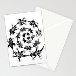 Lizards Stationery Cards