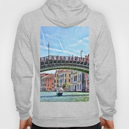Ponte dell' Accademia Bridge In Venice, Italy Hoody