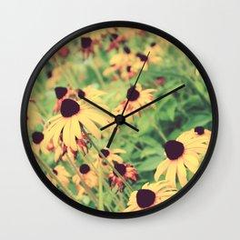 Rudbeckia - Cone Flower - JUSTART © Wall Clock