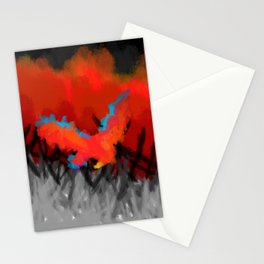 Red Pheonix Stationery Cards