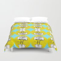 cassette Duvet Covers featuring Cassette by Molly Yllom Shop