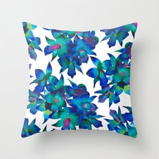 Orchid Fascination Throw Pillow
