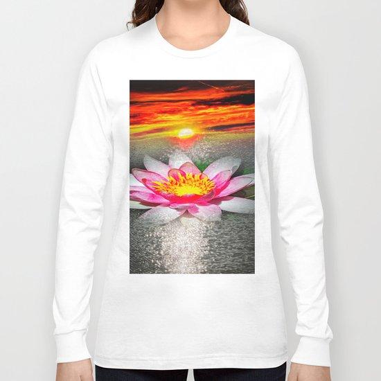 Wellness Water Lily 5 Long Sleeve T-shirt