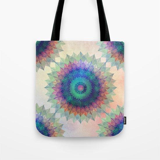Leaf Mandala Tote Bag