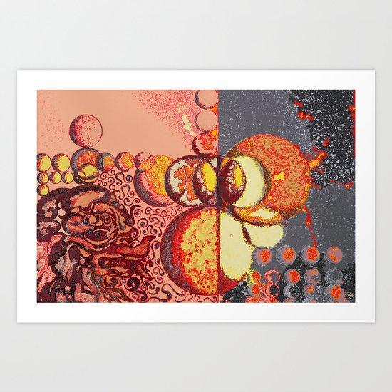 The Maya Art Print