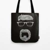 dad Tote Bags featuring Dad by FemkeGielkens