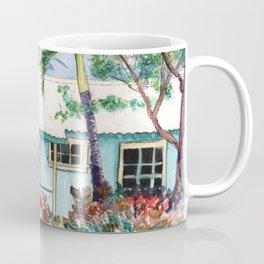 Tropical Vacation Cottage Coffee Mug