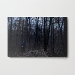 Dark Woods 2 Metal Print