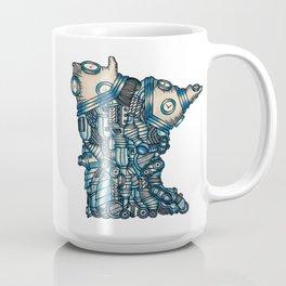 Blue Mechanical Minnesota Mug Coffee Mug