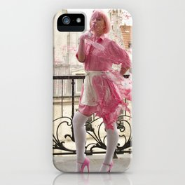 Lait de Fraise - Le Grand Spectacle du Lait // The Grand Spectacle of the Milking iPhone Case