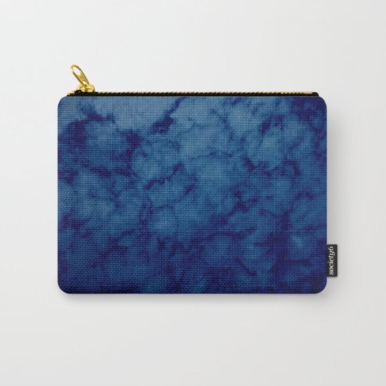 Sky blue print Carry-All Pouch
