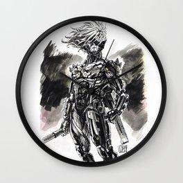 Cyber-Ninja Raiden Wall Clock