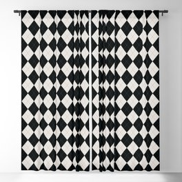 Argyle -Light Grey Blackout Curtain
