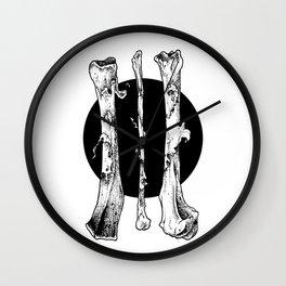 III Bones Wall Clock