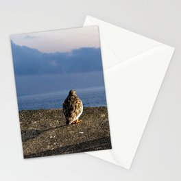 Sandpiper Coastal Bird Sea View Seascape Stationery Cards